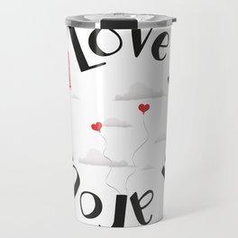 Love is all around Travel Mug