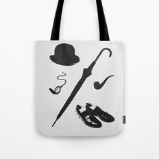 Gentleman's Accoutrements Tote Bag