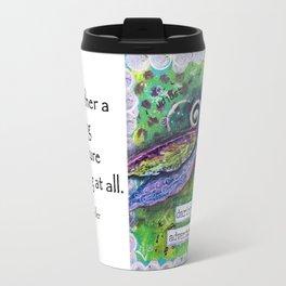 DARING ADVENTURE, Dragonfly Art Travel Mug