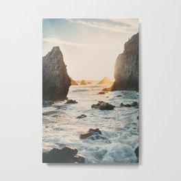 Sunset at El Matador Metal Print