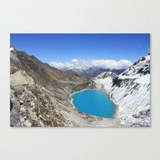 Salkantay Canvas Print