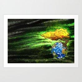 Yggdrasil: The World Tree Of Life Art Print