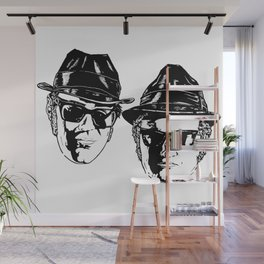 The Blues Brothers - Can You See The Light? Wall Mural