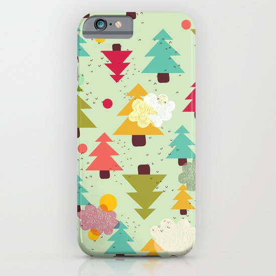 TREES UPSIDE DOWN iPhone & iPod Case