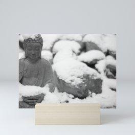 Buddha in Himalaya Mini Art Print