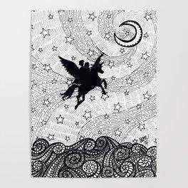 Flight of the alicorn Poster