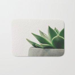 Minimal Cactus - Cacti Photography Bath Mat