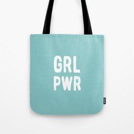 GRL PWR (Blue) Tote Bag