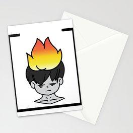 Funny Overthink Tshirt Design Overthinking Stationery Cards