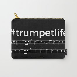 #trumpetlife (dark colors) Carry-All Pouch
