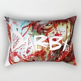 Darbi_Fierce Rectangular Pillow