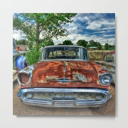 Route 66 Oldsmobile Metal Print