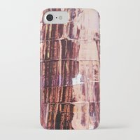 burgundy iPhone & iPod Cases featuring Burgundy by Charlotte Chisnall