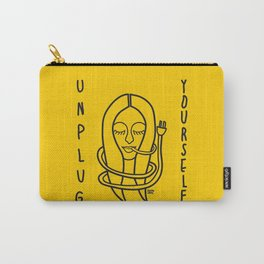 unplug yourself Carry-All Pouch