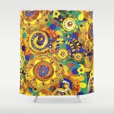 Pra Oxum Shower Curtain