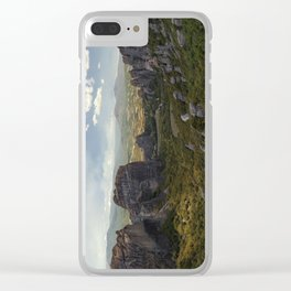 Sunny afternoon in Greek Meteora Clear iPhone Case