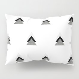 Arrows Collages Monochrome Pattern Pillow Sham