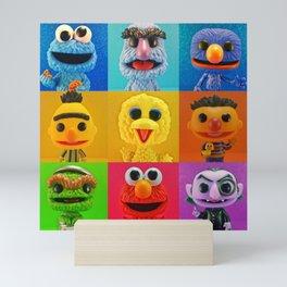 Straight Outta Sesame Mini Art Print