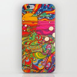 Psychedelic Art iPhone Skin