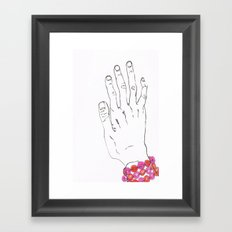 Bracelet Framed Art Print