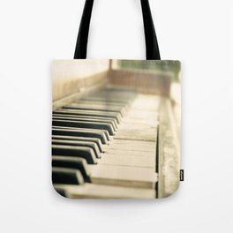 Tickling The Ivories Tote Bag