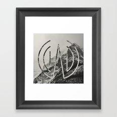 Logo Mount Framed Art Print