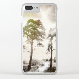Peace before the Storm Clear iPhone Case