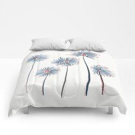 Five Fuzzy Flowers Comforters