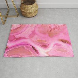 Juicy Pink Agate Rug