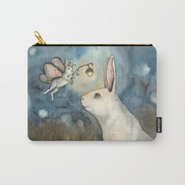 Night Bunny Fairy Carry-All Pouch