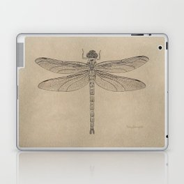 Dragonfly Fossil Dos Laptop & iPad Skin