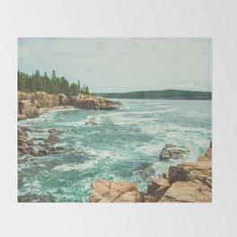 Summer Vacation Throw Blanket