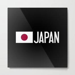Japan: Japanese Flag & Japan Metal Print