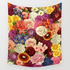Spring Explosion Wall Tapestry