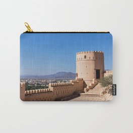 Nakhl Fort, Oman Carry-All Pouch