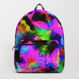 Glad Abstract Kaleidoscopic Version 6 Backpack