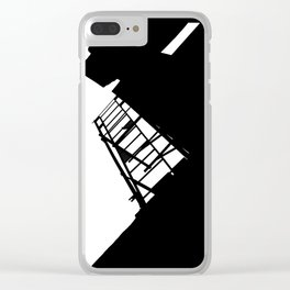 New York Fire Escape Clear iPhone Case