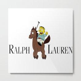 RALPH LAUREN Ralph Wiggum Simpsons Metal Print