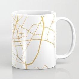 AUSTIN TEXAS CITY STREET MAP ART Coffee Mug