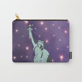 The Statue of Liberty in Universe Carry-All Pouch