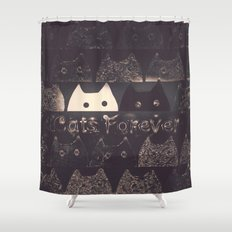 cats-61 Shower Curtain