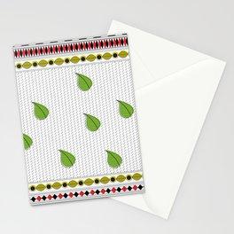 Modern Madhubani Borders Stationery Cards