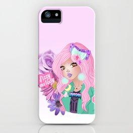 bishoujo girl gang unicorn queen iPhone Case