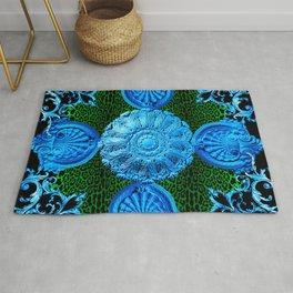 Cool Baroque Rug