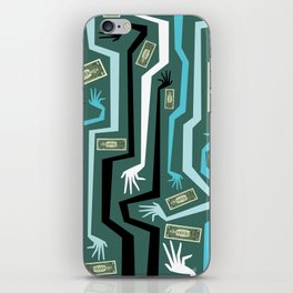 All Hands iPhone Skin