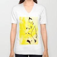 nudes V-neck T-shirts featuring Nudes Art 2011 by Falko Follert Art-FF77
