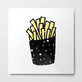 Space Fry Metal Print