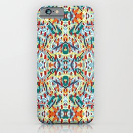 Abstract Kaleidoscope Pattern  iPhone Case