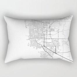 Minimal City Maps - Map Of Boulder, Colorado, United States Rectangular Pillow