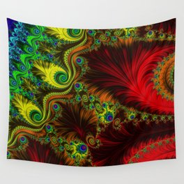 Fractal - My Mother's Dress Wall Tapestry